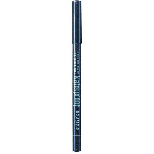 Bourjois Карандаш водостойкий для глаз Contour Clabbing Waterproof (56 blue it your self)Макияж<br>Водостойкий карандаш для глаз от Bourjois Contour Clabbing Waterproof<br>Bourjois карандаш для глаз идеально подходит для создания смоуки-макияжа. Их мягкая текстура идеально ложится, создавая яркий насыщенный цвет. Водостойкая формула насыщена маслами жожоба и хлопка, чтобы не раздражать нежную кожу век. <br> Карандаши прошли тщательный офтальмологический контроль. <br>Смываются водостойким средством для снятия макияжа.Состав:<br>EXTRACT, HYDROLYZED CONCHIOLIN PROTEIN, METHYLPARABEN, TIN OXIDE<br><br>Вес г: 10<br>Цвет : 56 тон<br>Бренд : Bourjois<br>Тип карандаша : деревянный<br>Страна производитель : Германия