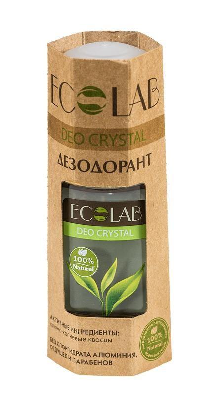 Ecolab Дезодорант для тела DEO CRYSTAL НатуральныйДля тела<br>Дезодоранты КРИСТАЛЛ содержат 100% ингредиентов растительного происхождения.<br><br>Вес г: 70<br>Бренд : Ecolab<br>Объем мл: 50<br>Страна производитель : Россия
