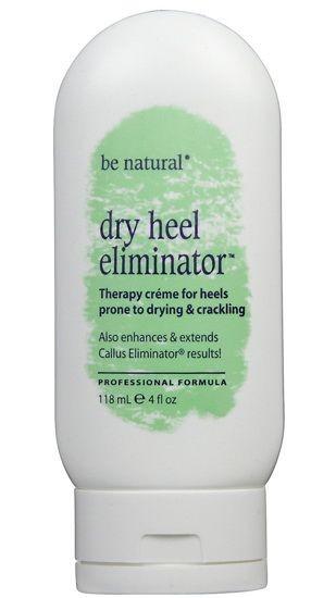 BE NATURAL Крем для сухой кожи рук и ног заживляющий трещиныBe Natural<br>Dry Heel Eliminator – лучшее решение для лечения трещин на пятках, создаёт длительный эффект эластичности, удерживая влагу в коже. Предотвращает появление натоптышей за счёт глицерина и мочевины, которые удерживают межклеточную жидкость, сохраняя тем самым влажность глубоких слоев кожи, растительных масел и экстрактов, стимулирующих жизнедеятельность клеток, полимеров и стеариновой кислоты, создающих в верхнем слоекожи защитную пленку. Идеально подходит для сухой кожи диабетиков.<br><br>Вес г: 160<br>Бренд: Be Natural<br>Объем мл: 120<br>Страна производитель: США