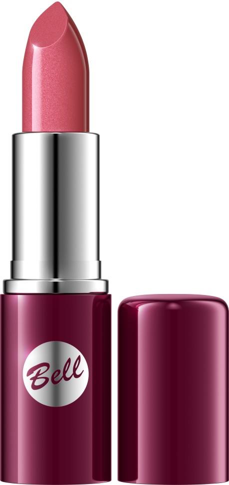 Bell Помада для губ Lipstick Classic (4 розовый)Bell<br>Чтобы выглядеть сверхэлегантной, попробуйте помаду, которая придаст идеальную форму Вашим губам, окрашивая их в чистый, атласный и блестящий цвет. Формула, обогащенная питательными веществами и витаминами, подчеркнет аппетитность Ваших губ, одновременно увлажняя и защищая их. Мягкая и бархатная текстура помады обеспечивает легкое скольжение, устойчивый пигмент сохраняет цвет на губах длительное время. Вы ощутите и увидите Ваши губы ухоженными и соблазнительными. Роскошная палитра из 30 тонов: от классических до супермодных для любого случая и настроения.<br>Руководство по выбору:<br>Чтобы выглядеть сверхэлегантной, попробуйте помаду, которая придаст идеальную форму Вашим губам, окрашивая их в чистый, атласный и блестящий цвет.Способ применения:<br>Нанести на губы по контуруОсобенности состава:<br>Формула, обогащенная питательными веществами и витаминами, подчеркнет аппетитность Ваших губ, одновременно увлажняя и защищая их.<br>Состав:<br>Ingredients: Octyldodecanol, Ricinus Communis Seed Oil, Cera Microcristallina, Petrolatum, Lanolin, Copernicia Cerifera Cera, Isopropyl Palmitate, Aloe Barbadensis Leaf Extract, Tocopherol, Linoleic Acid, Linolenic Acid, Oleic Acid, Paraffinum Liquidum, Ascorbyl Palmitate, Ascorbic Acid, PEG-8, Citric Acid, Methylparaben, Propylparaben, BHA, BHT, Parfum, Geraniol, Hexyl Cinnamal, Limonene, Linalool, [+/- CI 15850, CI 19140, CI 45380, CI 45410, CI 45430, CI 73360, CI 75470, CI 77007, CI 77491, CI 77492, CI 77499, CI 77742, CI 77891, Calcium Aluminum Borosilicate, Mica, Silica, Tin Oxide]<br><br>Вес г: 46<br>Бренд : Bell<br>Объем мл: 5<br>Упаковка помады : футляр (выдвижная)<br>Текстура помады : глянцевая<br>Свойства помады : увлажняющая<br>Вид помады : классическая<br>Страна производитель : Польша