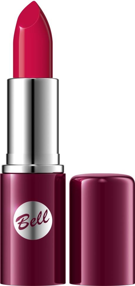 Bell Помада для губ Lipstick Classic (10 красный)Bell<br>Чтобы выглядеть сверхэлегантной, попробуйте помаду, которая придаст идеальную форму Вашим губам, окрашивая их в чистый, атласный и блестящий цвет. Формула, обогащенная питательными веществами и витаминами, подчеркнет аппетитность Ваших губ, одновременно увлажняя и защищая их. Мягкая и бархатная текстура помады обеспечивает легкое скольжение, устойчивый пигмент сохраняет цвет на губах длительное время. Вы ощутите и увидите Ваши губы ухоженными и соблазнительными. Роскошная палитра из 30 тонов: от классических до супермодных для любого случая и настроения.<br>Руководство по выбору:<br>Чтобы выглядеть сверхэлегантной, попробуйте помаду, которая придаст идеальную форму Вашим губам, окрашивая их в чистый, атласный и блестящий цвет.Способ применения:<br>Нанести на губы по контуруОсобенности состава:<br>Формула, обогащенная питательными веществами и витаминами, подчеркнет аппетитность Ваших губ, одновременно увлажняя и защищая их.<br>Состав:<br>Ingredients: Octyldodecanol, Ricinus Communis Seed Oil, Cera Microcristallina, Petrolatum, Lanolin, Copernicia Cerifera Cera, Isopropyl Palmitate, Aloe Barbadensis Leaf Extract, Tocopherol, Linoleic Acid, Linolenic Acid, Oleic Acid, Paraffinum Liquidum, Ascorbyl Palmitate, Ascorbic Acid, PEG-8, Citric Acid, Methylparaben, Propylparaben, BHA, BHT, Parfum, Geraniol, Hexyl Cinnamal, Limonene, Linalool, [+/- CI 15850, CI 19140, CI 45380, CI 45410, CI 45430, CI 73360, CI 75470, CI 77007, CI 77491, CI 77492, CI 77499, CI 77742, CI 77891, Calcium Aluminum Borosilicate, Mica, Silica, Tin Oxide]<br><br>Вес г: 46<br>Бренд : Bell<br>Объем мл: 5<br>Упаковка помады : футляр (выдвижная)<br>Текстура помады : глянцевая<br>Свойства помады : увлажняющая<br>Вид помады : классическая<br>Страна производитель : Польша