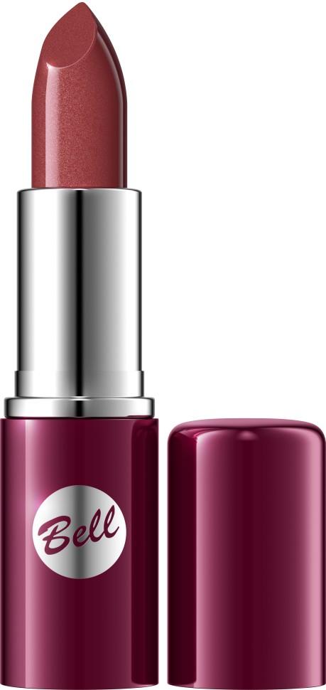 Bell Помада для губ Lipstick Classic (17 светло-коричневый)Bell<br>Чтобы выглядеть сверхэлегантной, попробуйте помаду, которая придаст идеальную форму Вашим губам, окрашивая их в чистый, атласный и блестящий цвет. Формула, обогащенная питательными веществами и витаминами, подчеркнет аппетитность Ваших губ, одновременно увлажняя и защищая их. Мягкая и бархатная текстура помады обеспечивает легкое скольжение, устойчивый пигмент сохраняет цвет на губах длительное время. Вы ощутите и увидите Ваши губы ухоженными и соблазнительными. Роскошная палитра из 30 тонов: от классических до супермодных для любого случая и настроения.<br>Руководство по выбору:<br>Чтобы выглядеть сверхэлегантной, попробуйте помаду, которая придаст идеальную форму Вашим губам, окрашивая их в чистый, атласный и блестящий цвет.Способ применения:<br>Нанести на губы по контуруОсобенности состава:<br>Формула, обогащенная питательными веществами и витаминами, подчеркнет аппетитность Ваших губ, одновременно увлажняя и защищая их.<br>Состав:<br>Ingredients: Octyldodecanol, Ricinus Communis Seed Oil, Cera Microcristallina, Petrolatum, Lanolin, Copernicia Cerifera Cera, Isopropyl Palmitate, Aloe Barbadensis Leaf Extract, Tocopherol, Linoleic Acid, Linolenic Acid, Oleic Acid, Paraffinum Liquidum, Ascorbyl Palmitate, Ascorbic Acid, PEG-8, Citric Acid, Methylparaben, Propylparaben, BHA, BHT, Parfum, Geraniol, Hexyl Cinnamal, Limonene, Linalool, [+/- CI 15850, CI 19140, CI 45380, CI 45410, CI 45430, CI 73360, CI 75470, CI 77007, CI 77491, CI 77492, CI 77499, CI 77742, CI 77891, Calcium Aluminum Borosilicate, Mica, Silica, Tin Oxide]<br><br>Вес г: 46<br>Бренд : Bell<br>Объем мл: 5<br>Упаковка помады : футляр (выдвижная)<br>Текстура помады : глянцевая<br>Свойства помады : увлажняющая<br>Вид помады : классическая<br>Страна производитель : Польша
