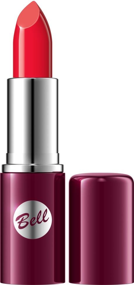 Bell Помада для губ Lipstick Classic (19 красный)Чтобы выглядеть сверхэлегантной, попробуйте помаду, которая придаст идеальную форму Вашим губам, окрашивая их в чистый, атласный и блестящий цвет. Формула, обогащенная питательными веществами и витаминами, подчеркнет аппетитность Ваших губ, одновременно увлажняя и защищая их. Мягкая и бархатная текстура помады обеспечивает легкое скольжение, устойчивый пигмент сохраняет цвет на губах длительное время. Вы ощутите и увидите Ваши губы ухоженными и соблазнительными. Роскошная палитра из 30 тонов: от классических до супермодных для любого случая и настроения.<br>Руководство по выбору:<br>Чтобы выглядеть сверхэлегантной, попробуйте помаду, которая придаст идеальную форму Вашим губам, окрашивая их в чистый, атласный и блестящий цвет.Способ применения:<br>Нанести на губы по контуруОсобенности состава:<br>Формула, обогащенная питательными веществами и витаминами, подчеркнет аппетитность Ваших губ, одновременно увлажняя и защищая их.<br>Состав:<br>Ingredients: Octyldodecanol, Ricinus Communis Seed Oil, Cera Microcristallina, Petrolatum, Lanolin, Copernicia Cerifera Cera, Isopropyl Palmitate, Aloe Barbadensis Leaf Extract, Tocopherol, Linoleic Acid, Linolenic Acid, Oleic Acid, Paraffinum Liquidum, Ascorbyl Palmitate, Ascorbic Acid, PEG-8, Citric Acid, Methylparaben, Propylparaben, BHA, BHT, Parfum, Geraniol, Hexyl Cinnamal, Limonene, Linalool, [+/- CI 15850, CI 19140, CI 45380, CI 45410, CI 45430, CI 73360, CI 75470, CI 77007, CI 77491, CI 77492, CI 77499, CI 77742, CI 77891, Calcium Aluminum Borosilicate, Mica, Silica, Tin Oxide]<br><br>Вес г: 46<br>Бренд : Bell<br>Объем мл: 5<br>Упаковка помады : футляр (выдвижная)<br>Текстура помады : глянцевая<br>Свойства помады : увлажняющая<br>Вид помады : классическая<br>Страна производитель : Польша