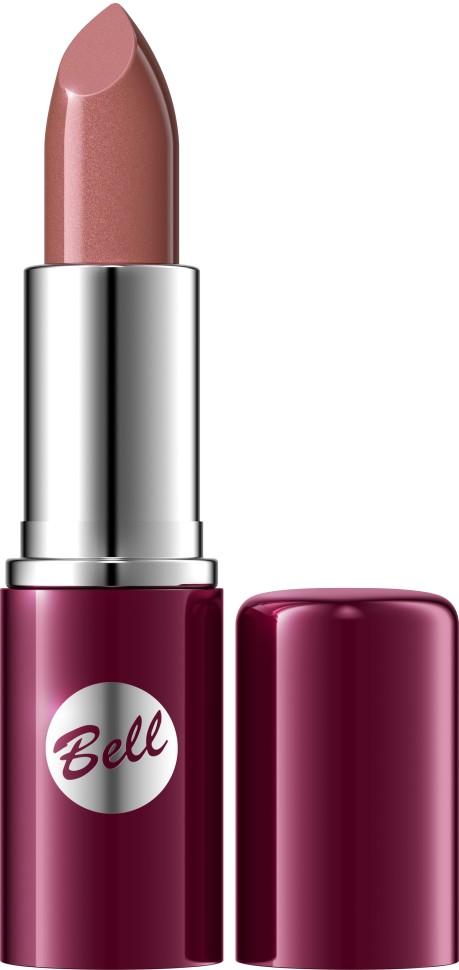 Bell Помада для губ Lipstick Classic (6.1 коричневый)Bell<br>Чтобы выглядеть сверхэлегантной, попробуйте помаду, которая придаст идеальную форму Вашим губам, окрашивая их в чистый, атласный и блестящий цвет. Формула, обогащенная питательными веществами и витаминами, подчеркнет аппетитность Ваших губ, одновременно увлажняя и защищая их. Мягкая и бархатная текстура помады обеспечивает легкое скольжение, устойчивый пигмент сохраняет цвет на губах длительное время. Вы ощутите и увидите Ваши губы ухоженными и соблазнительными. Роскошная палитра из 30 тонов: от классических до супермодных для любого случая и настроения.<br>Руководство по выбору:<br>Чтобы выглядеть сверхэлегантной, попробуйте помаду, которая придаст идеальную форму Вашим губам, окрашивая их в чистый, атласный и блестящий цвет.Способ применения:<br>Нанести на губы по контуруОсобенности состава:<br>Формула, обогащенная питательными веществами и витаминами, подчеркнет аппетитность Ваших губ, одновременно увлажняя и защищая их.<br>Состав:<br>Ingredients: Octyldodecanol, Ricinus Communis Seed Oil, Cera Microcristallina, Petrolatum, Lanolin, Copernicia Cerifera Cera, Isopropyl Palmitate, Aloe Barbadensis Leaf Extract, Tocopherol, Linoleic Acid, Linolenic Acid, Oleic Acid, Paraffinum Liquidum, Ascorbyl Palmitate, Ascorbic Acid, PEG-8, Citric Acid, Methylparaben, Propylparaben, BHA, BHT, Parfum, Geraniol, Hexyl Cinnamal, Limonene, Linalool, [+/- CI 15850, CI 19140, CI 45380, CI 45410, CI 45430, CI 73360, CI 75470, CI 77007, CI 77491, CI 77492, CI 77499, CI 77742, CI 77891, Calcium Aluminum Borosilicate, Mica, Silica, Tin Oxide]<br><br>Вес г: 46<br>Бренд : Bell<br>Объем мл: 5<br>Упаковка помады : футляр (выдвижная)<br>Текстура помады : глянцевая<br>Свойства помады : увлажняющая<br>Вид помады : классическая<br>Страна производитель : Польша