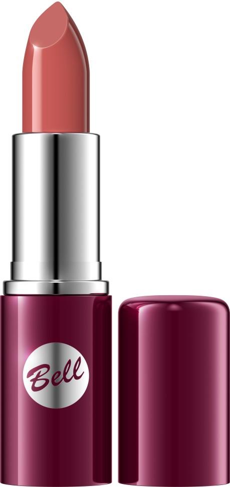 Bell Помада для губ Lipstick Classic (102 коричневый)Bell<br>Чтобы выглядеть сверхэлегантной, попробуйте помаду, которая придаст идеальную форму Вашим губам, окрашивая их в чистый, атласный и блестящий цвет. Формула, обогащенная питательными веществами и витаминами, подчеркнет аппетитность Ваших губ, одновременно увлажняя и защищая их. Мягкая и бархатная текстура помады обеспечивает легкое скольжение, устойчивый пигмент сохраняет цвет на губах длительное время. Вы ощутите и увидите Ваши губы ухоженными и соблазнительными. Роскошная палитра из 30 тонов: от классических до супермодных для любого случая и настроения.<br>Руководство по выбору:<br>Чтобы выглядеть сверхэлегантной, попробуйте помаду, которая придаст идеальную форму Вашим губам, окрашивая их в чистый, атласный и блестящий цвет.Способ применения:<br>Нанести на губы по контуруОсобенности состава:<br>Формула, обогащенная питательными веществами и витаминами, подчеркнет аппетитность Ваших губ, одновременно увлажняя и защищая их.<br>Состав:<br>Ingredients: Octyldodecanol, Ricinus Communis Seed Oil, Cera Microcristallina, Petrolatum, Lanolin, Copernicia Cerifera Cera, Isopropyl Palmitate, Aloe Barbadensis Leaf Extract, Tocopherol, Linoleic Acid, Linolenic Acid, Oleic Acid, Paraffinum Liquidum, Ascorbyl Palmitate, Ascorbic Acid, PEG-8, Citric Acid, Methylparaben, Propylparaben, BHA, BHT, Parfum, Geraniol, Hexyl Cinnamal, Limonene, Linalool, [+/- CI 15850, CI 19140, CI 45380, CI 45410, CI 45430, CI 73360, CI 75470, CI 77007, CI 77491, CI 77492, CI 77499, CI 77742, CI 77891, Calcium Aluminum Borosilicate, Mica, Silica, Tin Oxide]<br><br>Вес г: 46<br>Бренд : Bell<br>Объем мл: 5<br>Упаковка помады : футляр (выдвижная)<br>Текстура помады : глянцевая<br>Свойства помады : увлажняющая<br>Вид помады : классическая<br>Страна производитель : Польша