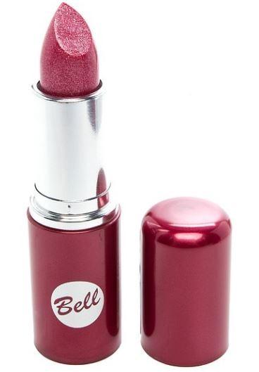 Bell Помада для губ Lipstick Classic (136 малиновый)Bell<br>Чтобы выглядеть сверхэлегантной, попробуйте помаду, которая придаст идеальную форму Вашим губам, окрашивая их в чистый, атласный и блестящий цвет. Формула, обогащенная питательными веществами и витаминами, подчеркнет аппетитность Ваших губ, одновременно увлажняя и защищая их. Мягкая и бархатная текстура помады обеспечивает легкое скольжение, устойчивый пигмент сохраняет цвет на губах длительное время. Вы ощутите и увидите Ваши губы ухоженными и соблазнительными. Роскошная палитра из 30 тонов: от классических до супермодных для любого случая и настроения.<br>Руководство по выбору:<br>Чтобы выглядеть сверхэлегантной, попробуйте помаду, которая придаст идеальную форму Вашим губам, окрашивая их в чистый, атласный и блестящий цвет.Способ применения:<br>Нанести на губы по контуруОсобенности состава:<br>Формула, обогащенная питательными веществами и витаминами, подчеркнет аппетитность Ваших губ, одновременно увлажняя и защищая их.<br>Состав:<br>Ingredients: Octyldodecanol, Ricinus Communis Seed Oil, Cera Microcristallina, Petrolatum, Lanolin, Copernicia Cerifera Cera, Isopropyl Palmitate, Aloe Barbadensis Leaf Extract, Tocopherol, Linoleic Acid, Linolenic Acid, Oleic Acid, Paraffinum Liquidum, Ascorbyl Palmitate, Ascorbic Acid, PEG-8, Citric Acid, Methylparaben, Propylparaben, BHA, BHT, Parfum, Geraniol, Hexyl Cinnamal, Limonene, Linalool, [+/- CI 15850, CI 19140, CI 45380, CI 45410, CI 45430, CI 73360, CI 75470, CI 77007, CI 77491, CI 77492, CI 77499, CI 77742, CI 77891, Calcium Aluminum Borosilicate, Mica, Silica, Tin Oxide]<br><br>Вес г: 46<br>Бренд : Bell<br>Объем мл: 5<br>Упаковка помады : футляр (выдвижная)<br>Текстура помады : глянцевая<br>Свойства помады : увлажняющая<br>Вид помады : классическая<br>Страна производитель : Польша
