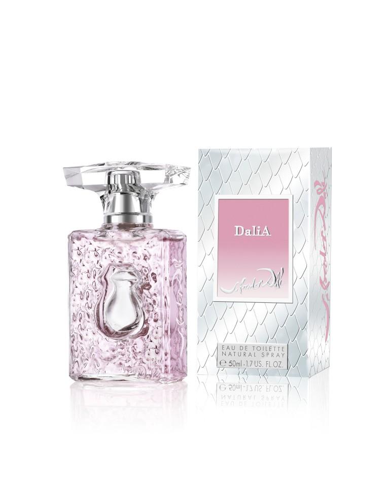 Les Parfums Salvador Dali Dalia Туалетная вода 50 млSalvador Dali<br>Спокойствие и умиротворённость с озорной улыбкой… DaliA - аромат для женщин от парфюмерного дома Salvador Dali, отражает молодость Далинезийских муз, которые сочетают в себе ослепительную красоту и нежные чувства. Невероятно свежий, бесконечно нежный аромат DaliA завораживает своим веселым и одновременно бархатным характером. Ультра шикарный нежно-розового цвета флакон создаёт атмосферу яркого, нового праздника. Аромат DaliA посланник беззаботности, он возвращает украденные моменты счастья и предвещает хорошую, солнечную погоду.<br>Особенности состава:<br>Невероятно свежий, бесконечно нежный аромат DaliA завораживает своим веселым и одновременно бархатным характером.<br>Состав:<br>ALCOHOL, FRAGRANCE (PARFUM) , WATER (AQUA), Ethyl Hexyl Methoxycinnamate, Diethylamino Hydroxybenzoyl Hexyl Benzoate, CI 17200, Butylphenyl Methylpropional (Lilial), Citral, Citronellol, Hydroxycitronellal, Limonene, Linalool, Methyl 2-Octynoate. |<br><br>Вес г: 234<br>Бренд : Salvador Dali<br>Объем мл: 50<br>Возраст : 12+<br>Страна производитель : Франция<br>Вид Аромата : Фруктово цветочный<br>Шлейф : Кедр, палисандр, белый мускус, амбра, шипровые нот<br>Верхняя Нота : Кумкват, Гранат, малина, бархатцы, гальбаниум<br>Верхняя Нота : Кумкват, Гранат, малина, бархатцы, гальбаниум