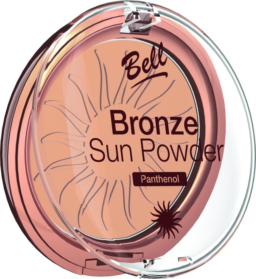 Bell Пудра бронзирующая с пантенолом Bronze Sun Powder Panthenol (24 розовый)Bell<br>Пудра бронзирующая Bronze Sun Power придаст Вашей коже теплый, естественный оттенок загара. Идеально подходит для всех типов кожи. Пантенол, входящий в состав пудры оказывает мягкое, успокаивающее воздействие на кожу. Благодаря особой формуле пудра поглощает избыточную влагу, придавая коже ровный матовый оттенок. Бархатная текстура пудры обеспечивает легкое и равномерное нанесение.<br>Руководство по выбору:<br>Для придания коже естественного оттенка загараСпособ применения:<br>Нанести с помощью кисти на лицо. Тёмным оттенком можно затемнить скулы, височные области.Особенности состава:<br>Пантенол, входящий в состав пудры оказывает мягкое, успокаивающее воздействие на кожу. Благодаря особой формуле пудра поглощает избыточную влагу, придавая коже ровный матовый оттенок.<br>Состав:<br>Ingredients: Talc, Mica, Aluminum Starch Octenylsuccinate, Isocetyl Stearoyl Stearate, Octyldodecyl Stearate, Methyl Methacrylate Crosspolymer, Kaolin, Panthenol, Propylene Glycol, PEG-8, Tocopherol, Ascorbyl Palmitate, Ascorbic Acid, Citric Acid, Methylparaben, Propylparaben [+/- CI 77891, CI 77491, CI 77492, CI 77499, Silica]<br><br>Вес г: 75<br>Бренд : Bell<br>Объем мл: 9<br>Эффект покрытия : оттенок загара<br>Тип пудры : компактная<br>Зеркало : Нет<br>Страна производитель : Польша