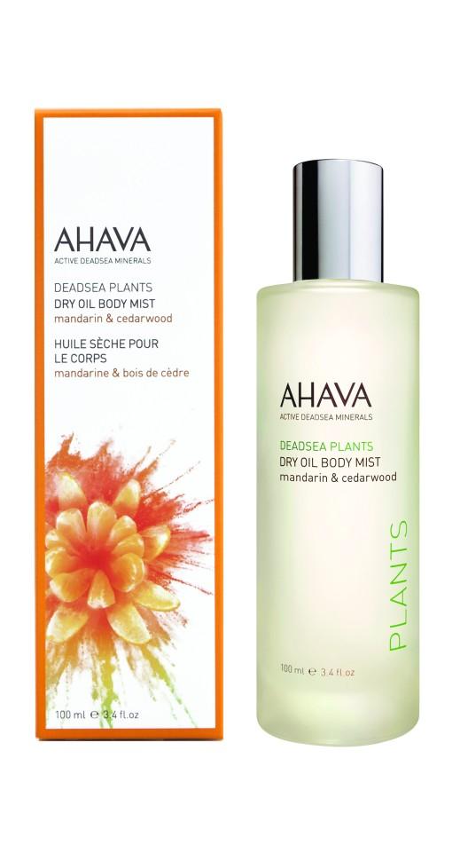 Ahava Deadsea Plants Сухое масло для тела мандарин и кедр 100 млAhava<br>Сухое масло - спрей, замечательное сочетание легких и питательных масел, которое обволакивает кожу увлажняющим туманом, оставляет ощущение мягкости и сияния. Витамин Е и водоросли Дуналиелла укрепляет естественный барьер кожи, а свежий аромат Мандарина и Кедра способствует релаксации и появлению ощущения комфорта на  кожеЯвляясь единственной косметической компанией, расположенной на берегу Мертвого моря, цель и задача AHAVA состоит в том, чтобы предоставить достоинства Мертвого моря путем использования своих самых необычных ингредиентов и создания инновационных и эффективных продуктов для потребителей во всем мире.Способ применения:<br>После душа распылить на влажную/ сухую кожу, для быстрого впитывания. <br>Особенности состава:<br>*Вся продукция не содержит парабены*Вся очищающие средства не содержат SLS / SLES (лаурет сульфат натрия). *Не содержит продуктов нефтепереработки, агрессивных синтетических ингредиентов и ГМО*Вся продукция гипоаллергена и опробована на чувствительной кожи.*Не тестируется на животных*Вся упаковка подлежит вторичной переработке*Вся продукция содержит формулу Osmoter™Состав:<br>Ethylhexyl Palmitate, Isohexadecane, Cyclomethicone, Simondsia Chinensis (Jojoba) Seed Oil, Fragrance (Perfume), Sesamum Indicum (Sesame) Seed Oil, Dunaliella Salina (Dead Sea Alga) Extract, Tocopherol(Vitamin E), Butylphenyl Methylpropional,  Linalool, Limonene, Hydroxycitronellal, Citronnellol, Coumarin.<br><br>Вес г: 300<br>Бренд : Ahava<br>Объем мл: 100<br>Возраст : 12+<br>Страна производитель : Израиль
