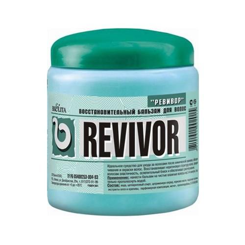 Белита Revivor бальзам восстановительный для волос (450 мл)Белита<br>Идеальное средство для ухода за волосами после химической завивки, обесцвечивания и окраски волос.<br>Восстанавливает кератиновую структуру волос, придает волосам эластичность, ослепительный блеск и обеспечивает расчесывание.<br><br>Вес г: 25<br>Бренд : Белита<br>Объем мл: 450<br>Тип волос : поврежденные<br>Действие : блеск и эластичность<br>Тип средства для волос : бальзам<br>Страна производитель : Белоруссия