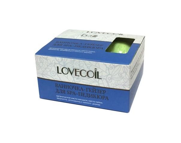 Ecolab LovEcOil Ванночка-гейзер для SPA-педикюра 4штДля тела<br>Ванночка-гейзер быстро смягчает воду благодаря входящим в ее состав соде, лимонной кислоте и маслам. Улучшает общее состояние кожи, способствует регенерации и заживлению микротрещин, царапин, смягчает мозоли. Отлично питает и увлажняет кожу.Активные ингредиенты: органическое масло миндаля, масла лайма, эвкалипта, розмарина и чайного дерева.<br><br>Вес г: 250<br>Бренд : Ecolab<br>Страна производитель : Россия<br>Тип средства для ногтей : ванночка для ногтей
