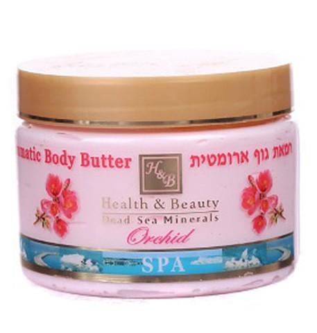 Health&amp;Beauty Масло ароматическое для тела ОрхидеяЛосьоны и масла<br>Ароматическое масло для тела Health &amp;amp; Beauty с ароматом орхидеи, на основе минералов Мертвого моря, растительных масел и экстрактов.Действие:- Масло для тела увлажняет, повышают упругость и эластичность кожи, возвращают ей здоровый и ухоженный вид, предупреждают растяжки, разглаживают огрубевшую кожу.- Минералы Мертвого моря в составе масла обеспечивают кровоснабжения тканей, насыщает глубокие слои дермы необходимыми минералами, оздоравливая ее и улучшая внешний вид.- Масло для тела богато растительными экстрактами и маслами – это природный и естественный комплекс большого количества витаминов, биологически активных веществ, жирных кислот, и других полезных компонентов, необходимых для нашей кожи. Основные действия натуральных растительных масел и экстрактов это питание, смягчение и увлажнение кожи, а также предотвращение ее старения, омоложение, разглаживание морщин, повышение тонуса, упругости и эластичности кожи.<br><br>Вес г: 400<br>Бренд: Health &amp; Beauty<br>Объем мл: 350<br>Страна производитель: Израиль