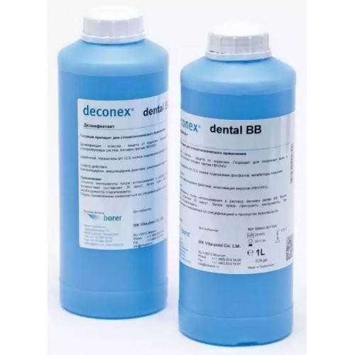 Depilflax Деконес денталь ББ 1 лDepilflax<br>Деконекс ББ- предназначенно для дезинфекции и предстерилизационной очистки стоматологических, особенно ротационных инструментов (боры, дрильборы, шлифовальные диски и т.п.<br>Описание<br><br>Вес г: 1050<br>Бренд: Depilflax<br>Объем мл: 1000