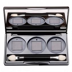 Limoni Палитра Magic Box с тремя ячейками (пустая)Косметика для век<br>С палитрой Magic Box с тремя ячейками от Limoni Вы можете эксперементировать с различными цветами и их оттенками, пробовать различные сочетания и выбрать то, что подходит именно вам.Не хотите носить с собой несколько футляров с разными тенями для век — покупайте сменные блоки любимых оттенков и комбинируйте в изящном пенале с магнитными ячейками. Сменные блоки удерживаются магнитными замками.<br><br>Вес г: 50<br>Бренд : Limoni