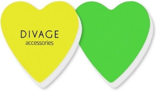 Divage Dolly Collection Набор полировочных бафферов  (2 шт) зеленый желтыйDivage<br>Набор состоит из 2 бафферов, позволяющий за 2 этапа сделать ногти ухоженными и аккуратными. 1 шаг – придаёт форму и устраняет неровности, 3 шаг – шлифует и придаёт блеск. Полировочный баффер можно использовать для восстановления блеска потускневшего лака для ногтей в перерывах между процедурами маникюра и педикюра. Бафферы представлены в забавной форме сердечка, а также очень компактны, что позволяет всегда носить их с собой.Во время полировки держи баффер пальцами с двух сторон и таким образом, <br>чтобы он покрывал максимальную площадь ногтя. Шлифовку ногтевой пластины<br> выполняй 1 раз  в месяц, а полировку с помощью баффера выполняй 2 раза в<br> месяц.<br><br>Вес г: 45<br>Бренд : Divage<br>Страна производитель : Россия