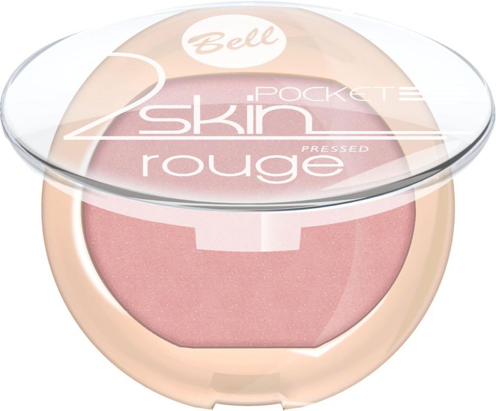 Bell Румяна компактные 2 Skin Rouge (53 персиковый)Bell<br>Бархатная текстура румян создает эффект тонкой вуали на кожи. Легко и равномерно наносится, придавая кожи легкое сияние. Роскошные оттенки румян выгодно подчеркнут все достоинства Вашего макияжа<br>Руководство по выбору:<br>Для закрепления макияжа лица. Рекомендуется использование совместно с другими продуктами от BellСпособ применения:<br>Нанести на кожу лица с помощью аппликатора<br>Состав:<br>Ingredients: Talc, Mica, Sodium Potassium Aluminum Silicate, Silica, Magnesium Stearate, Isocetyl Stearoyl Stearate, Octyldodecyl Stearate, Tocopherol, Ascorbyl Palmitate, Ascorbic Acid, PEG-8, Citric Acid, Methylparaben, Propylparaben [+/- CI 15850, CI 77007, CI 77491, CI 77492, CI 77499, CI 77742, CI 77891]<br><br>Вес г: 53<br>Бренд : Bell<br>Объем мл: 4<br>В комплекте : кисть<br>Страна производитель : Польша