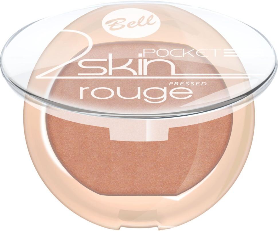 Bell Румяна компактные 2 Skin Rouge (54 бронзовый)Bell<br>Бархатная текстура румян создает эффект тонкой вуали на кожи. Легко и равномерно наносится, придавая кожи легкое сияние. Роскошные оттенки румян выгодно подчеркнут все достоинства Вашего макияжа<br>Руководство по выбору:<br>Для закрепления макияжа лица. Рекомендуется использование совместно с другими продуктами от BellСпособ применения:<br>Нанести на кожу лица с помощью аппликатора<br>Состав:<br>Ingredients: Talc, Mica, Sodium Potassium Aluminum Silicate, Silica, Magnesium Stearate, Isocetyl Stearoyl Stearate, Octyldodecyl Stearate, Tocopherol, Ascorbyl Palmitate, Ascorbic Acid, PEG-8, Citric Acid, Methylparaben, Propylparaben [+/- CI 15850, CI 77007, CI 77491, CI 77492, CI 77499, CI 77742, CI 77891]<br><br>Вес г: 53<br>Бренд: Bell<br>Объем мл: 4<br>В комплекте: кисть<br>Страна производитель: Польша