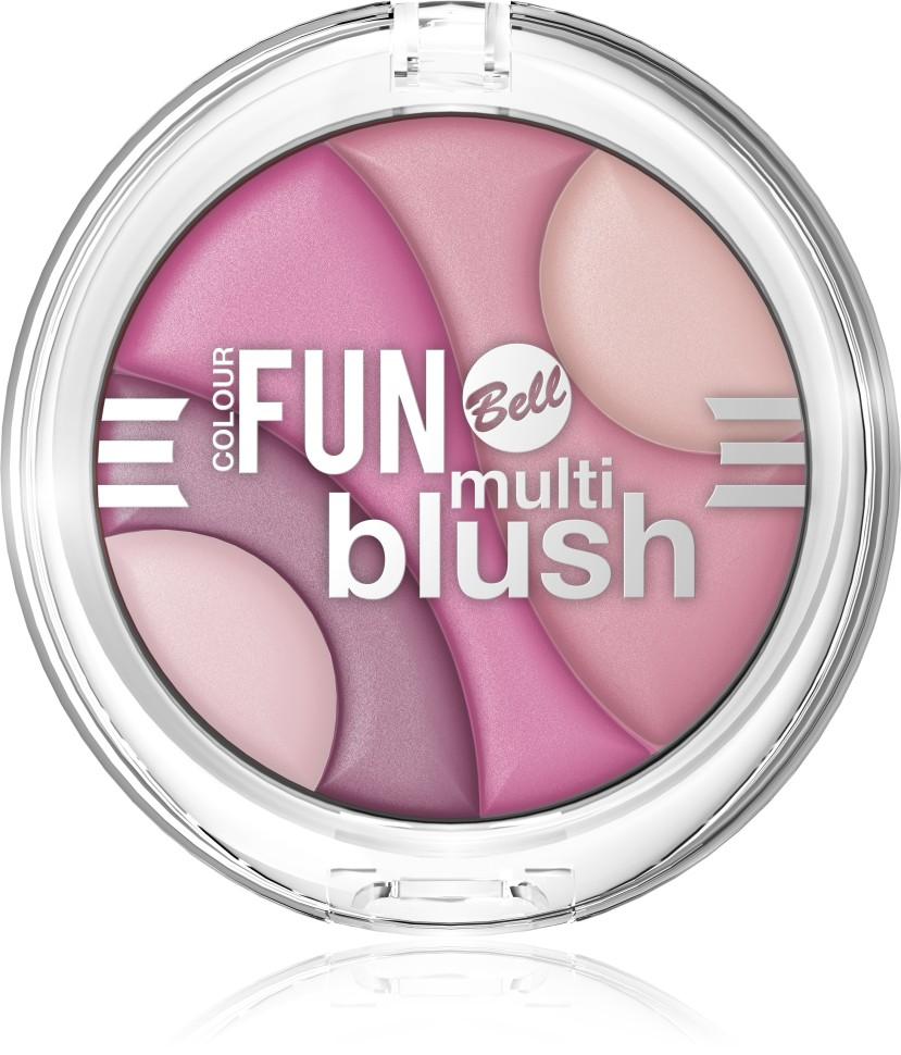 Bell Румяна многоцветные Colour Fun Multi Blush (1 розовый)Bell<br>КРЕМОВЫЕ пигменты - Революционная формула, благодаря инновационной технологии гарантирует необыкновенно мягкое и удобное нанесение румян, а также исключительный комфорт. Румяна содержат пигменты, которые находятся в капсуле с маслом жожоба, обладающим увлажняющими свойствами. Шелковистые кремовые они идеально ложатся на кожу и создают атласный макияж. Выразительные матовые оттенки естественно подчеркивают скулы. Содержание в составе витаминов C и E обеспечивает регенерацию кожи.<br>Руководство по выбору:<br>Рекомендуется использовать с продуктами для макияжа BellСпособ применения:<br>Нанести на кожу лица с помощью аппликатораОсобенности состава:<br>Румяна содержат пигменты, которые находятся в капсуле с маслом жожоба, обладающим увлажняющими свойствами. Содержание в составе витаминов C и E обеспечивает регенерацию кожи.<br>Состав:<br>Ingredients: Talc, Mica, Magnesium Stearate, Isocetyl Stearoyl Stearate, Octyldodecyl Stearate, Sodium Stearyl Fumarate, Jojoba Esters, Tocopherol, Ascorbyl Palmitate, Ascorbic Acid, PEG-8, Citric Acid, Silica, Tin Oxide, Methylparaben, Propylparaben, [may contain +/- CI 15850 (Red 6 Lake, Red 7 Lake), CI 77007 (Ultramarines), CI 77491, CI 77492, CI 77499 (Iron Oxides), CI 77891 (Titanium Dioxide)]<br><br>Вес г: 80<br>Бренд : Bell<br>Объем мл: 4<br>В комплекте : кисть<br>Страна производитель : Польша