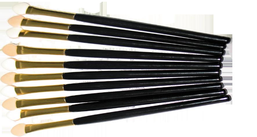 ТРИУМФ TF Аппликатор для теней с длинной ручкой CTT08 - 10штТРИУМФ TF<br>Аппликатор для теней с длинной ручкой.Предназначены для нанесения и растушевки теней.Возможно смачивать аппликатор.Можно использовать для растушевки линии карандаша.Удобен в применении.Материал латекс.<br><br>Вес г: 35<br>Бренд : Триумф TF<br>Страна производитель : Польша<br>Материал кистей : латекс<br>Вид кистей : спонжи<br>Предназначение кистей : для теней<br>Длинна мм: 115