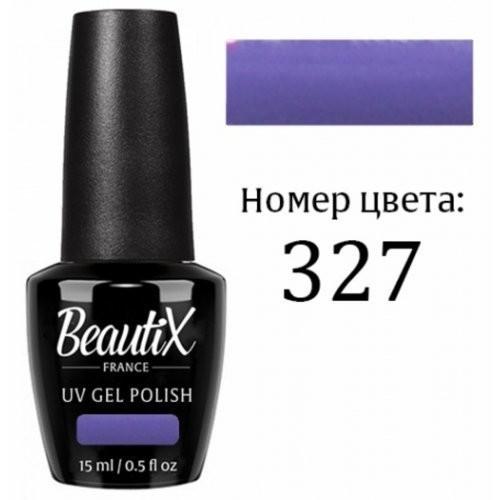 Beautix Гель-лак для ногтей 15 мл (№327)Beautix<br>Beautix – французские гель-лаки премиального качества. Материал отличается простотой в нанесении, плотностью цветов и стойкостью покрытия более 2-х недель без сколов и трещин. Роскошная палитра цветов и регулярно обновляющиеся коллекции будут по вкусу даже самым притязательным мастерам. При этом гель-лаки абсолютно безопасны, не содержат вредных веществ и практически не имеют запаха.<br>  Способ применения:  Делаем маникюр любым удобным вам способом. Придаем форму, бафим.  Обезжириваем ногти жидкостью для устранения лишней влаги и лучшей сцепки поверхности ногтя с материалом.  Наносим базовое покрытие Beautix тонким слоем длинными плавными движениями сверху вниз, отступая от кутикулы на 1-2 мм и не касаясь боковых валиков. Запечатываем торец. Просушиваем в LED-лампе 30 секунд, в UV-лампе - 2 минуты.  Наносим цвет. Первый слой очень тонко, так же длинными плавными движениями максимально близко к кутикуле и боковым валикам, но, не касаясь и не затрагивая их. Запечатываем торец. Полимеризуем в LED-лампе 30 секунд, в UV-лампе - 2 минуты. Покрытие Beautix достаточно плотное, яркое и даже первый слой ложится без проплешин и полос. Вторым более плотным слоем выравниваем цвет (если нужно), снова запечатываем ноготок и полимеризуем.  Наносим верхнее покрытие Beautix (необходимо для защиты от царапин, сколов и выцветания), запечатываем торец, полимеризуем в LED-лампе 30 секунд, в UV-лампе - 2 минуты, достаем из лампы и даем ноготкам остыть 1 минутку. Снимаем липкий слой жидкостью для удаления дисперсии Beautix, после чего покрытие приобретает стойкий глянцевый блеск.  Состав:  Этоксилат (5) Пентаэритритолтетраакрилат, 2-гидроксипропилметакрилат, триметилолпропантриакрилат, 2-гидроксиэтилметакрилат, 1-гидроксициклогексилфенилкетон, Н-диметилакриламид, этилен дистеарамид.  Продукция французской марки Beautix завоевала сердца тысяч российских мастеров, благодаря премиальному качеству, долговечности и безопасности гель-лаков и ст