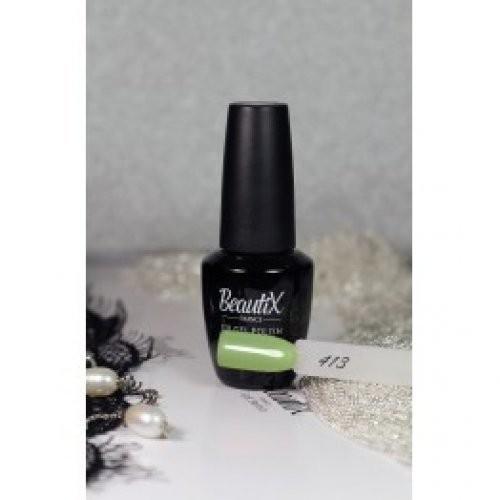 Beautix Гель-лак для ногтей 15 мл (№413)Beautix<br>Beautix – французские гель-лаки премиального качества. Материал отличается простотой в нанесении, плотностью цветов и стойкостью покрытия более 2-х недель без сколов и трещин. Роскошная палитра цветов и регулярно обновляющиеся коллекции будут по вкусу даже самым притязательным мастерам. При этом гель-лаки абсолютно безопасны, не содержат вредных веществ и практически не имеют запаха.<br>  Способ применения:  Делаем маникюр любым удобным вам способом. Придаем форму, бафим.  Обезжириваем ногти жидкостью для устранения лишней влаги и лучшей сцепки поверхности ногтя с материалом.  Наносим базовое покрытие Beautix тонким слоем длинными плавными движениями сверху вниз, отступая от кутикулы на 1-2 мм и не касаясь боковых валиков. Запечатываем торец. Просушиваем в LED-лампе 30 секунд, в UV-лампе - 2 минуты.  Наносим цвет. Первый слой очень тонко, так же длинными плавными движениями максимально близко к кутикуле и боковым валикам, но, не касаясь и не затрагивая их. Запечатываем торец. Полимеризуем в LED-лампе 30 секунд, в UV-лампе - 2 минуты. Покрытие Beautix достаточно плотное, яркое и даже первый слой ложится без проплешин и полос. Вторым более плотным слоем выравниваем цвет (если нужно), снова запечатываем ноготок и полимеризуем.  Наносим верхнее покрытие Beautix (необходимо для защиты от царапин, сколов и выцветания), запечатываем торец, полимеризуем в LED-лампе 30 секунд, в UV-лампе - 2 минуты, достаем из лампы и даем ноготкам остыть 1 минутку. Снимаем липкий слой жидкостью для удаления дисперсии Beautix, после чего покрытие приобретает стойкий глянцевый блеск.  Состав:  Этоксилат (5) Пентаэритритолтетраакрилат, 2-гидроксипропилметакрилат, триметилолпропантриакрилат, 2-гидроксиэтилметакрилат, 1-гидроксициклогексилфенилкетон, Н-диметилакриламид, этилен дистеарамид.  Продукция французской марки Beautix завоевала сердца тысяч российских мастеров, благодаря премиальному качеству, долговечности и безопасности гель-лаков и ст