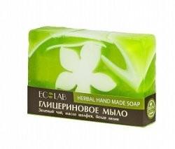 Ecolab Мыло глицериновое ТравяноеДля тела<br>Красивое мыло ручной работы глицериновое Травяное.<br>Это необыкновенное мыло бережно ухаживает за вашей кожей, оказывает успокаивающее действие, способствует улучшению ее состояния, тонизирует и оставляет незабываемое впечатление. <br>Активные ингредиенты: зеленый чай, масло шалфея, белая лилия.<br>Продукт не содержит парабенов и силиконов.<br>Способ применения: вспенить мыло, нанести на влажную кожу, помассировать, смыть.Вес: 130гр.<br><br>Вес г: 130<br>Бренд: Ecolab<br>Средство для рук: мыло<br>Страна производитель: Россия