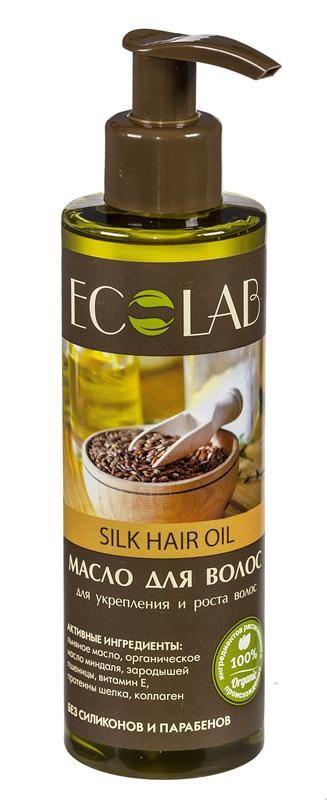 Ecolab Масло для волос Для укрепления и роста волосДля волос<br>Входящий в состав витамин Е отлично укрепляет волосы и усиливает их рост, а также лечит кожу головы. Коллаген способствует улучшению качества волос, повышает их эластичность и прочность. Органическое масло зародышей пшеницы содержит витамины и микроэлементы, оказывает благоприятное воздействие на кожу и волосы.<br>Продукт не содержит парабенов, силиконов, консервантов и красителей.Органическое масло миндаля<br>Способствует хорошему увлажнению и смягчению кожи, устраняет сухость и шелушение, освежает и тонизирует кожу.<br><br>Вес г: 220<br>Бренд : Ecolab<br>Объем мл: 200<br>Тип волос : смешанные, поврежденные, тонкие и ослабленные, длинные и секущиеся<br>Действие : увлажнение, питание, укрепление, для роста волос<br>Тип средства для волос : масло<br>Страна производитель : Россия