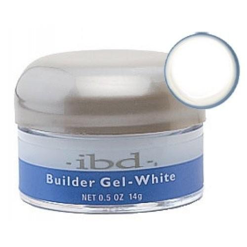 IBD Конструирующий белый гель Builder Gel White 14 грIbd<br>Конструирующий гель совмещает в себе прочность акрилов и прозрачность гелей, идеален для перекрытия типсов и моделирования на формах в качестве второй фазы. Не имеет запаха, самовыравнивается, не желтеет, не вызывает ощущение жжения ногтевой пластины. Гели с насыщенной пигментацией рекомендуется моделировать и полимеризовать на прозрачных формах, используя УФ аппарат мощностью не менее 36 Ватт.<br>Только для профессионального использования!<br>Время полимеризации в УФ аппаратах .ibd.: 3 мин.<br><br>Вес г: 30<br>Бренд: IBD<br>Объем мл: 14