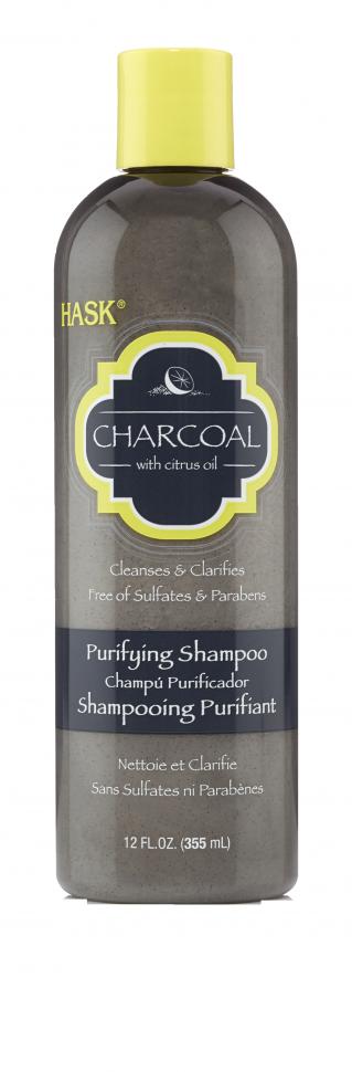 HASK Шампунь очищающий с Углем и Цитрусовым маслом 355млHask<br>Подходит для всех типов волос, в том числе окрашенныхНе содержит сульфаты, парабены, фталаты, клейковину (глютен), спирт и искусственные красители.Очищающий шампунь HASK с древесным углем, полученным из скорлупы <br>кокосового ореха, в сочетании с лимонным и грейпфрутовым маслом <br>тщательно очищает волосы, помогает легко удалить загрязнения с волос и <br>кожи головы. Достаточно мягкий для ежедневного применения, безопасный <br>для окрашенных волос. Способ применения: Массажными движениями нанести <br>на влажные волосы. Тщательно смойте. Для достижения наилучшего <br>результата используйте с кондиционером для волос с углем и цитрусовым <br>маслом и другими средствами HASK.<br><br>Вес г: 405<br>Бренд : HASK<br>Объем мл: 355<br>Тип волос : окрашенные, все типы волос<br>Действие : глубокое очищение<br>Тип средства для волос : шампунь<br>Страна производитель : США