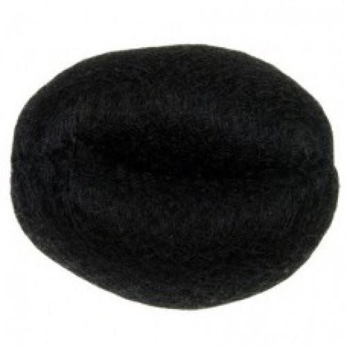 Dewal Валик для прически, искусственный волос+сетка, черный d14смDewal<br><br><br>Вес г: 50<br>Бренд: Dewal