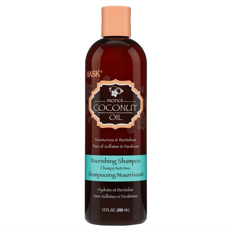 HASK Шампунь питательный для волос с Кокосовым маслом 355млHask<br>Увлажняет и восстанавливает<br>Не содержит сульфаты, парабены, фталаты, клейковину (глютен), спирт и искусственные красители.Питательный шампунь с кокосовым маслом — смесь таитянской гардении и <br>кокосового масла смягчает, увлажняет и укрепляет волосы, мягко очищает, <br>насыщает и обновляет даже самые безжизненные пряди, восстанавливая <br>структуру волоса. Идеально подходит для всех типов волос, незабываемый <br>кокосовый аромат этого шампуня пробудит ваши чувства и эмоции.Способ применения: нанесите шампунь на влажные волосы. Помассируйте <br>до образования густой пены, тщательно смойте, и можете повторить <br>процедуру при желании. Для получения наилучшего результата используйте с<br> питательным кондиционером HASK «Monoi кокосовое масло»<br><br>Вес г: 405<br>Бренд : HASK<br>Объем мл: 355<br>Тип волос : все типы волос<br>Действие : увлажнение, питание, укрепление, восстановление<br>Тип средства для волос : шампунь<br>Страна производитель : США