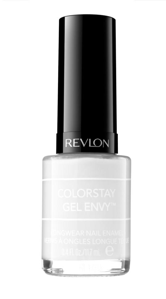 Revlon Гель-лак для ногтей Colorstay Gel Envy (240-510 Sure thing)Revlon<br>Аккуратно нанести аппликатором на ногти<br>Гелевый маникюр без лампы! Для создания стойкого маникюра гель-лак для ногтей Colorstay Gel Envy необходимо использовать в комплексе с верхним покрытием Colorstay Gel Envy Top Coat. Для удаления маникюра используйте обычную жидкость для снятия лака.<br>Состав:<br>BUTYL ACETATE, ETHYL ACETA TE, NITROCELLULOSE, AD!PIC ACIDINEOPENTYL GLYCOL/TRIMELLITIC ANHYDRIDE COPOLYMER, ACETYL TR!BUTYL CITRATE, ISOPROPYL ALCOHOL, STEARALKONIUM BENTONITE, ACRYLATES COPOLYMER, SILICA, BENZOPHENONE-1, TRIMETHYLPENTANED!YL DIBENZOATE, ACRYLATES/DIMETHICONE COPOLYMER, ALUMINA, DIPENTAERYTHRITYL HEXAACRYLATE, POLYACRYLATE-35, BORNANEDIONE, SYNTHETIC FLUORPHLOGOPITE, CALCIUM ALUMINUM BOROSILICATE, POLYBUTYLENE TEREPHTHALATE, CALCIUM SODIUM BOROSILICATE, POLYETHYLENETEREPHTHALATE, POLYURETHANE-11, POLYURETHANE-33, TITANIUM DIOXIDE (CI 77891), RED IRON OXIDE (CI 77491), RED 34 LAKE (CI 15880), BLACK 2 ( CI 77266) (NANO), MICA, TIN OXIDE (CI 77861)<br><br>Вес г: 90<br>Бренд : Revlon<br>Объем мл: 11<br>Вид лака : гель-лак<br>Эффект на ногтях : гелевое покрытие<br>Страна производитель : СОЕДИНЕННЫЕ ШТАТЫ АМЕРИКИ