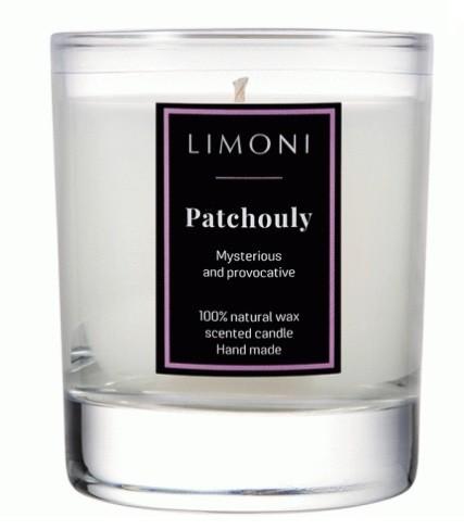 Limoni Ароматическая свеча Пачули Patchouly 140 грLimoni<br>Загадочный,соблазнительный,интригующий и чувственный аромат охватывает сладковатым туманом и заполняет собой все вокруг.<br><br>Вес г: 140<br>Бренд : Limoni<br>Страна производитель : Италия