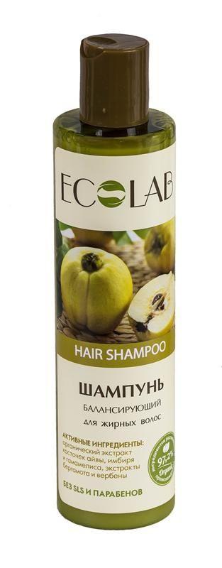 Ecolab Шампунь для жирных волос БалансирующийДля волос<br>Шампуни содержат более 97% ингредиентов растительного происхождения.<br>органические экстракты и масла.<br>Продукт не содержит SLS, парабенов и силиконов.Масло вербены<br>Косметический эффект масла вербены: омолаживает, витаминизирует кожу, повышает упругость.<br>Органический экстракт имбиря за его способность восстанавливать жировой баланс кожи. Тонизирует, улучшает тругор кожи, оказывает антисептическое и антиоксидантное действие.<br>Экстракт гамамелиса широко используют в косметических и лечебных целях, он оказывает антисептическое и тонизирующее действие.<br><br>Вес г: 300<br>Бренд: Ecolab<br>Объем мл: 250<br>Тип волос: жирные, смешанные<br>Действие: увлажнение, питание, укрепление<br>Тип средства для волос: шампунь<br>Страна производитель: Россия