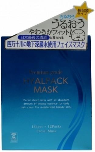 JAPONICA JAPAN GALS Premium Маска для лица Суперувлажнение 1штМаски для лица<br>Премиальная маска от JAPAN GALS создана для совершенного ухода за Вашей кожей. Три главных составляющих маски это: дистиллированная вода - при изготовлении маски была использована чистейшая вода из реки Симанто, еще с давних пор считающейся одной из самых чистых в Японии; высококачественные компоненты – гиалуроновая кислота и протеогликан входящие в состав, которым пропитана маска, проникают глубоко в кожу, питая ее изнутри; высококачественный материал - 100% натуральный японский хлопок, из которого изготовлена маска, естественно и мягко заботится о коже. Маска находится в индивидуальной упаковке, что обеспечивает ее гигиеничность и практичность (удобно брать с собой). Оказывает три действия: увлажняют кожу, улучшают состояние кожи, защищают кожу. Не содержит ароматизаторов, красителей, парабенов и спиртов. Способ хранения: держать в недоступном для детей месте. Хранить при комнатной температуре. Не рекомендуется хранить открытую упаковку под воздействием прямых солнечных лучей.<br><br>Вес г: 60<br>Бренд: Japonica<br>Объем мл: 50<br>Тип кожи: все типы кожи<br>Консистенция маски: тканевая<br>Часть лица: лицо<br>По времени суток: дневной уход<br>Назначение маски: увлажняющая, питательная, очищающая<br>Страна производитель: Япония