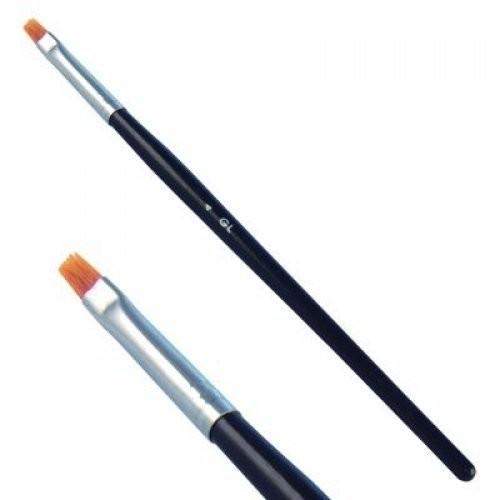 YOKO Кисть для УФ-гелей KG 014Yoko<br>Кисть плоская для геля. Длина ворса 8 мм. Нейлоновый ворс, деревянная ручка.<br><br>Вес г: 20<br>Бренд: Yoko