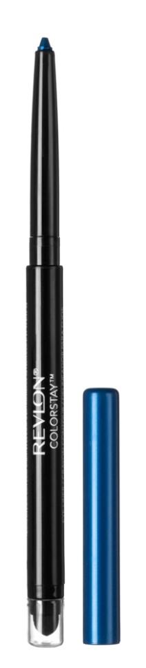 Revlon Карандаш для глаз Colorstay Eyeliner (205 Sapphir)Revlon<br>Нанести полностью на подвижное веко, на внутреннюю поверхность века или просто на линию роста ресниц по верхнему и/или нижнему веку<br>Описание:<br>Colorstay Eyeliner - супер-устойчивый автоматический карандаш-лайнер для глаз. Легко наносится, придавая глазам выразительность. Автоматический карандаш. Технология ColorStay™ сохраняет глаза красиво очерченными на протяжении В корпусе карандаша встроена точилка.<br>Состав:<br>CYCLOPENTASILOXANE, OZOKERITE, TRIMETHYLSILOXYSJLICATE, PCLYETHYLENE, PHENYL TRIMETHICONE, CANDELILLA CERA ((EUPHORI3IA CERIFERA (CANDELILLA) WAX) CIRE DE CANDELILLA), SORBIC ACID, METHYLPARABEN, PROPYLPARABEN, TOCOPHEROL, BHT, BLACK 2 (CI 77266), FERRIC FERROCYANIDE (CI 77510), BLACK 2 (CI 77266)<br><br>Вес г: 40<br>Бренд : Revlon<br>Тип карандаша : автоматический<br>Объем мл: 6<br>Страна производитель : СОЕДИНЕННЫЕ ШТАТЫ АМЕРИКИ