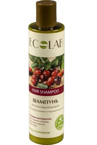 Ecolab Шампунь для поврежденных и окрашенных волос ВосстанавливающийДля волос<br>Шампуни Эколаб содержат более 97% ингредиентов растительного происхождения.<br>масло жожоба;<br>органическое масло зародышей пшеницы;<br>экстракт гибискуса.<br>Эффективно восстанавливает поврежденные волосы, питает, укрепляет и защищает от вредных факторов, таких как укладка феном и солнечные лучи. Продукт не содержит Масло семян клюквы используется в косметологии как тонизирующее и смягчающее средство.<br>Аргановое масло<br>Уникальный состав масла арганы на 45 % состоит олиго-линолиевых кислот, что делает этот дар природы особенно эффективным средством в антивозрастном е.<br>Экстракта ягод асаи помогает разрушать свободные радикалы, защищает от вредного воздействия окружающей среды и настраивает клетки кожи на регенерацию, улучшает тургор кожи.<br><br>Вес г: 300<br>Бренд : Ecolab<br>Объем мл: 250<br>Тип волос : поврежденные, окрашенные, тонкие и ослабленные<br>Действие : увлажнение, питание, укрепление, сохранение цвета, блеск и эластичность, УФ защита<br>Тип средства для волос : шампунь<br>Страна производитель : Россия
