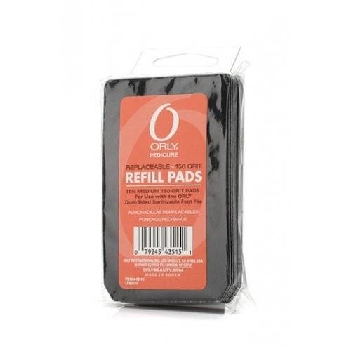 ORLY Сменный блок 150grit Foot File Refill Pads 10pkOrly<br><br><br>Вес г: 3830<br>Бренд: ORLY<br>Объем мл: 3780