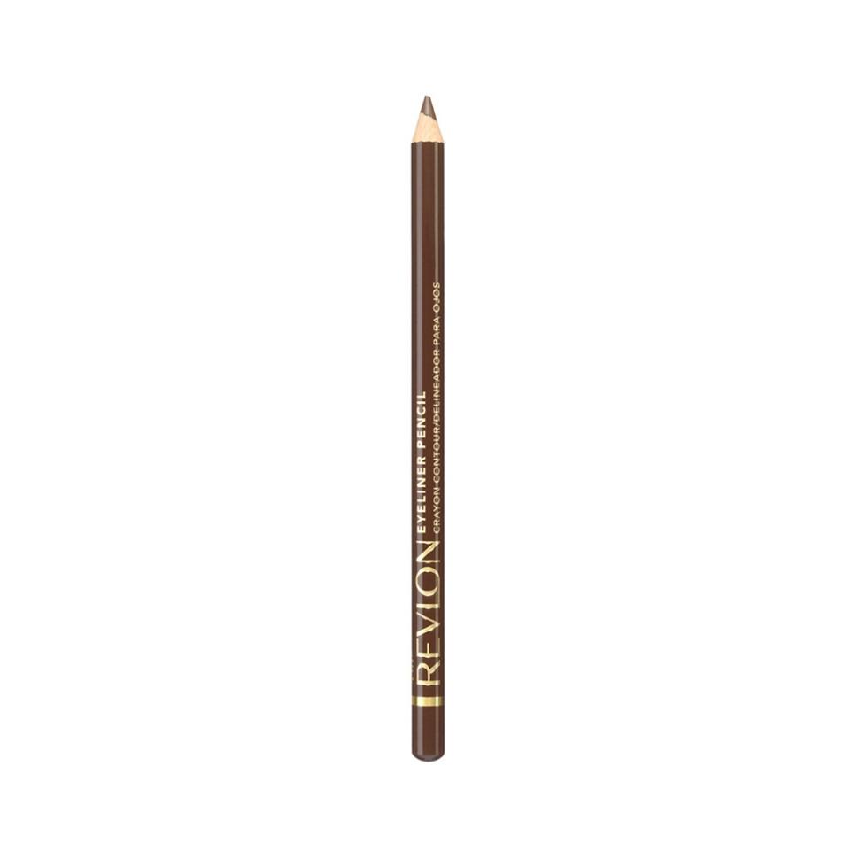 Revlon Карандаш для глаз Eyeliner (02 коричневый)Revlon<br>Нанести полностью на подвижное веко, на внутреннюю поверхность века или просто на линию роста ресниц по верхнему и/или нижнему веку.<br>Описание:<br>Классичесикй контурный карандаш с насыщенным цветом и интенсивной аппликацией. Скользит с лёгкостью карандаша и даёт цвет по интенсивности равный жидкому контуру. Прекрасно сохраняется на веках в течение дня.<br>Состав:<br>IRON OXIDES (CI 77499), HYDROGENATED JOJOBA OIL, CAPRYLIC/CAPRIC TRIGLYCERIDE, MICA, LIMNANTHES ALBA (MEADOWFOAM)SEED OIL, HYDROGENATED COTTONSEED OIL, MANGIFERA INDICA (MANGO) SEED OIL, EUPHORBIA CERIFERA (CANDELILLA) WAX (CIRE DE CANDELILLA), GLYCERYL CAPRYLATE, COPERNICIA CERRIFERA (CARNAUBA) WAX (CIRE DE CARNAUBA), MACADAMIA TERNIFOLIA SEED OIL, METHYLPARABEN, PROPYLPARABEN, CHAMOMILLA RECUTITA (MATRICARIA) FLOWER EXTRACT, BHT<br><br>Вес г: 32<br>Бренд : Revlon<br>Тип карандаша : деревянный<br>Объем мл: 2<br>Страна производитель : ЧЕХИЯ
