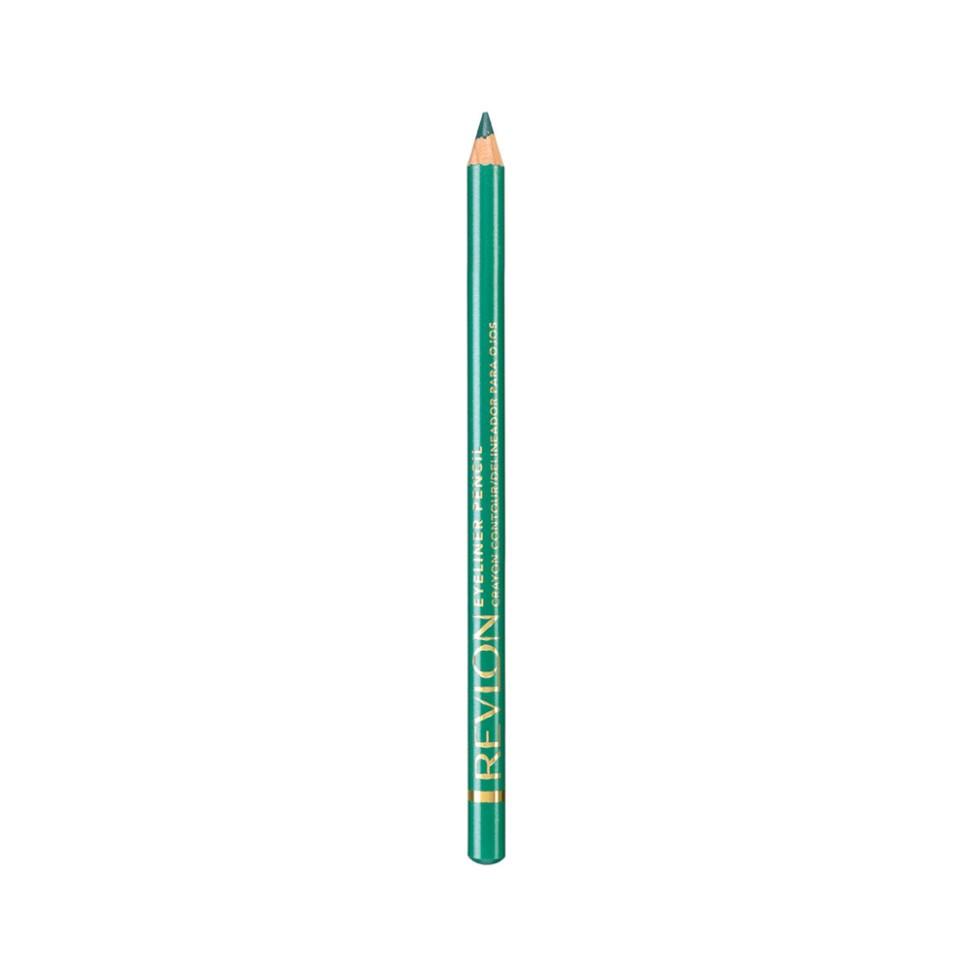 Revlon Карандаш для глаз Eyeliner (07 бирюзовый)Revlon<br>Нанести полностью на подвижное веко, на внутреннюю поверхность века или просто на линию роста ресниц по верхнему и/или нижнему веку.<br>Описание:<br>Классичесикй контурный карандаш с насыщенным цветом и интенсивной аппликацией. Скользит с лёгкостью карандаша и даёт цвет по интенсивности равный жидкому контуру. Прекрасно сохраняется на веках в течение дня.<br>Состав:<br>IRON OXIDES (CI 77499), HYDROGENATED JOJOBA OIL, CAPRYLIC/CAPRIC TRIGLYCERIDE, MICA, LIMNANTHES ALBA (MEADOWFOAM)SEED OIL, HYDROGENATED COTTONSEED OIL, MANGIFERA INDICA (MANGO) SEED OIL, EUPHORBIA CERIFERA (CANDELILLA) WAX (CIRE DE CANDELILLA), GLYCERYL CAPRYLATE, COPERNICIA CERRIFERA (CARNAUBA) WAX (CIRE DE CARNAUBA), MACADAMIA TERNIFOLIA SEED OIL, METHYLPARABEN, PROPYLPARABEN, CHAMOMILLA RECUTITA (MATRICARIA) FLOWER EXTRACT, BHT<br><br>Вес г: 32<br>Бренд : Revlon<br>Тип карандаша : деревянный<br>Объем мл: 2<br>Страна производитель : ЧЕХИЯ
