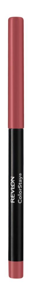 Revlon Карандаш для губ Colorstay Lip Liner (24 Blush)Revlon<br>Наносить на контур губ или растушевывать по всей поверхности губ<br>Описание:<br>Контурный карандаш для губ ColorStay™ создан на основе уникальной технологии SoftFlex™, которая предупреждает растекание или смазывание губной помады. Карандаш обладает мягкой текстурой и позволяет быстро прорисовать желаемый контур. В корпусе карандаша встроена точилка.<br>Состав:<br>OZOKERITE, CYCLOPENTASILOXANE, TRIMETHYLSILOXYSILICATE, PHENYL TRIMETHICONE, POLYETHYLENE, DISTEARDIMONIUM HECTORITE, PROPYLENECARBONATE, SORBICACJD, GLYCINE SOJA (SOYBEAN) OJL, GLYCINE SOJA (SOYBEAN) OJL, TOCOPHEROL, ALOE BARBADENSTS LEAF EXTRACT, MICA (Cl 77019), TITANIUM DIOXIDE (Cl77891), RED IRON OXIDE (Cl 77491), YELLOW IRON OXIDE (Cl 77492), BLACK IRON OXIDE (CI 77499), RED 7 LAKE (Cl 15850)<br><br>Вес г: 40<br>Бренд : Revlon<br>Тип карандаша : с точилкой<br>Объем мл: 6<br>Страна производитель : СОЕДИНЕННЫЕ ШТАТЫ АМЕРИКИ