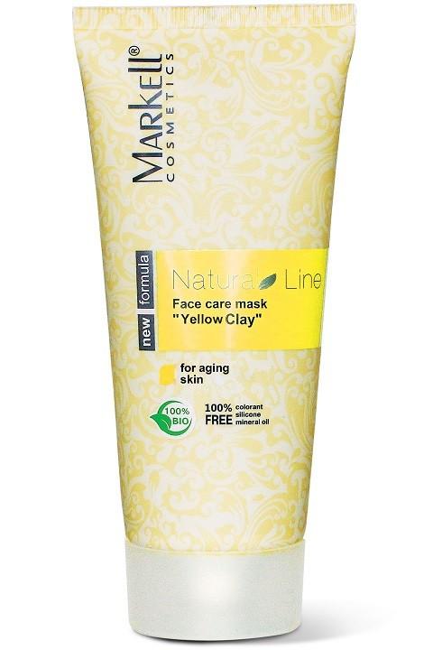 Markell Маска-уход для лица Желтая глинаMarkell<br>Для уставшей, тусклой, увядающей кожиМаска-уход на основе желтой глины бережно и эффективно очищает кожу. Способствует процессу обновления клеток кожи, устраняет дряблость и повышает ее тонус, препятствует старению клеток. Оливковое масло питает, смягчает и увлажняет кожу, удерживая в ней влагу на длительное время. Экстракт ягод белой смородины насыщает клетки кожи витаминами и антиоксидантами.Маска возвращает Вашей коже молодость, сияние и здоровый цвет лица!Применение: небольшое количество маски нанести на кожу лица и шеи, избегая области вокруг глаз. Оставить на 15- 20 минут. Смыть теплой водой.<br><br>Вес г: 120<br>Бренд : Markell<br>Объем мл: 100<br>Тип кожи : все типы кожи<br>Часть лица : лицо<br>По времени суток : дневной уход<br>Назначение маски : увлажняющая, питательная, очищающая<br>Страна производитель : Белоруссия