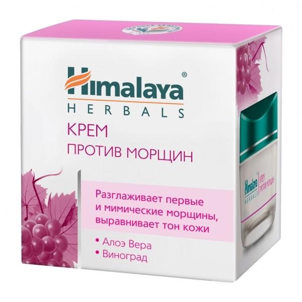 HIMALAYA Крем PREMIUM Против Морщин разглаживает, выравнивает тон кожиHimalaya Herbals<br>Крем уменьшает мимические и первые морщины, увлажняет кожу, делая ее мягкой и упругой. Он проникает глубоко в кожу, и, оказывая комплексное воздействие, укрепляет контуры лица.<br><br>Вес г: 60<br>Бренд : Himalaya Herbals<br>Объем мл: 50<br>Тип кожи : все типы кожи<br>Консистенция : крем<br>Тип крема : увлажняющий, питательный, антивозрастной<br>Возраст : 35+, 40+, 45+, 50+<br>Эффект : лифтинг-эффект, моделирует контур лица, сокращает морщины<br>По времени суток : дневной уход<br>Страна производитель : Индия
