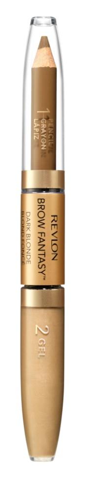 Revlon Карандаш и гель для бровей Colorstay Brow Fantasy Pencil &amp; Gel (104 светло-коричневый)Revlon<br>аккуратно подвести брови вдоль роста<br>Описание:<br>Карандаш и гель для бровей Brow Fantasy окрашивает, оформляет и фиксирует форму бровей, в течение всего дня придавая им красивый и ухоженный вид. Благодаря этому уникальному и практичному средству вы создадите желаемый образ: акцентированную, чётко очерченную линию брови, или же мягкий и естественный вид. Начните нанесение грифельной частью карандаша, следуя естественной дуге брови, заполняя пространства между волосками. Тонированный гель фиксирует форму бровей и придаёт линии ещё более чёткую очерченность. Как карандаш, так и гель можно наносить либо в небольшом количестве, либо в несколько слоёв - в зависимости от того образа, который вы хотите создать.<br>Состав:<br>POLYETHYLENE, HYDROGENATED POLYJSOBUTENE, DIMETHICONE, POLYMETHYLSILSESQUIOXANE, RHUS SUCCEDANEA CERA (RHUS SUCCEDANEA FRUIT WAX), SORBIC ACID, TOCOPHEROL, ASCORBYLPALMITATE, LECITIIIN, GLYCERYLSTEARATE, GLYCERYLOLEATE, CITRICACID, BLACK JRON OXIDE (CI77499), YELLOW !RON OXIDE (CI 77492), MICA, RED JRON OXIDE (CI77491), TITANIUM DIOXIDE (CI77891); ISODODECANE, TIUSILOXANE, SILICA, PARAFFIN, POLYSILICONE-6, DIMETHICONE, ACRYLATES/DIMETHICONE COPOLYMER, PPG-12/SMDI COPOLYMER, DISTEARDIMONIUM HECTORITE, TRIHYDROXYSTEARIN, PHENOXYETHANOL, PROPYLENE CARBONATE, DIMETHICONE CROSSPOLYMER, CAPRYL GLYCOL, 1,2-HEXANEDIOL, MICA, BLACK IRON OXIDE (CI 77499), RED IRON OXIDE (Cl7749), YELLOW IRON OXIDE (CI 77492), TITANIUM DIOXIDE (CI 7789)<br><br>Вес г: 58<br>Бренд : Revlon<br>Тип средства для бровей : гель для бровей<br>Объем мл: 1<br>Страна производитель : СОЕДИНЕННЫЕ ШТАТЫ АМЕРИКИ