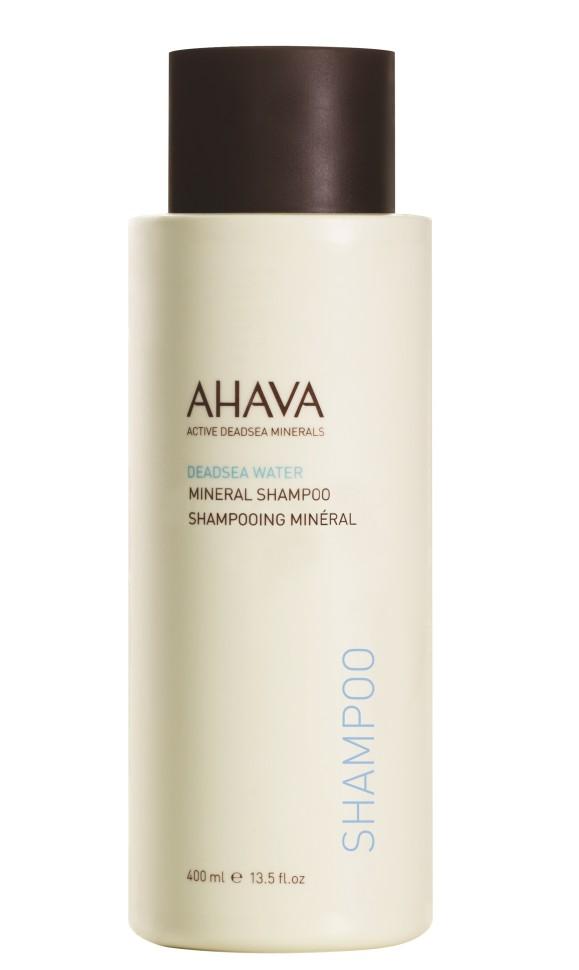 Ahava DEADSEA WATER Минеральный шампунь 400 млAhava<br>Мягкий шампунь специально, разработанный с использованием комплекса Osmoter ™ и экстрактов Алоэ Вера и Ромашки, тщательно очищает, увлажняет и смягчает волосы.Этот шампунь, дружественный коже,  подходит для ежедневного использования и для всех типов волос. Оставляет волосы чистыми, мягкими и блестящими.Без Парабенов, SLS \ SLES, не вызывает аллергию и подходит для чувствительной кожи головыЯвляясь единственной косметической компанией, расположенной на берегу Мертвого моря, цель и задача AHAVA состоит в том, чтобы предоставить достоинства Мертвого моря путем использования своих самых необычных ингредиентов и создания инновационных и эффективных продуктов для потребителей во всем мире.Способ применения:<br>Нанести на влажные волосы и вспенить, затем тщательно прополоскать водой.<br>Особенности состава:<br>*Вся продукция не содержит парабены*Вся очищающие средства не содержат SLS / SLES (лаурет сульфат натрия). *Не содержит продуктов нефтепереработки, агрессивных синтетических ингредиентов и ГМО*Вся продукция гипоаллергена и опробована на чувствительной кожи.*Не тестируется на животных*Вся упаковка подлежит вторичной переработке*Вся продукция содержит формулу Osmoter™*Вся продукция не содержит парабены<br>Состав:<br>Aqua (Mineral Spring Water), Ammonium Laureth Sulfate, Cocamidopropyl Betaine, Polyquaternium-7, Disodium Laureth Sulfosuccinate, Glycerin, Peg-7 Glyceryl Cocoate, Polyquaternium-39, Aloe Barbadensis Leaf Juice, Sodium Lauroamphoacetate, Sodium Trideceth Sulfate, Parfum (Fragrance), Cocamide MEA, Sodium Chloride, Allantoin, Chamomilla Recutita (Matricaria) Flower Oil, Maris Aqua (Dead Sea Water), Xanthan Gum, Hydroxypropyl Guar Hydroxypropyltrimonium Chloride, Methylisothiazolinone, DMDM Hydantoin, Styrene/Acrylamide Copolymer, CI 77891, MICA, Benzyl Salicylate, Alpha- Isomethyl Ionone, Butylphenyl Methylpropional.<br><br>Вес г: 430<br>Бренд : Ahava<br>Объем мл: 400<br>Возраст : 12+<br>Тип волос : все т