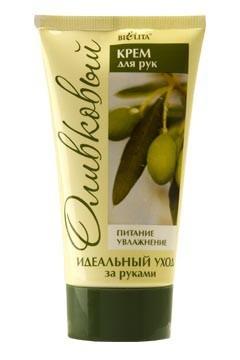Белита Крем для рук ОливковыйКрем для рук оливковый Питание &amp; Увлажнение от Белита.<br>Обладает удивительным смягчающим и увлажняющим действием. Идеален для а за кожей рук. Олива и какао — неиссякаемый источник молодости и красоты — питает клетки кожи, восстанавливает защитные функции. Увлажняющий комплекс — предотвращает потерю влаги. Разглаживает и выравнивает поверхность кожи.Состав: вода, цетеариловый спирт, полисорбат 60, ПЭГ-100 стеарат, цетеарет-25, масло вазелиновое медицинское, глицерин, этилгексилизононаноат, масло оливы, этилгексилпальмитат, дивинилдиметикон/диметикон сополимер, С12-С13 парет-3/С12-С13 парет-23, масло какао, экстракт оливы, аммониум акрилоилдиметилтаурат/ВП сополимер, масло зародышей пшеницы, витамин Е, ВНТ, изопропилмиристат, парфюмерная композиция, метилпарабен, пропилпарабены, 2-бром-2-нитропропан-1,3-диол.Объем: 150 мл<br><br>Вес г: 170<br>Бренд : Белита<br>Объем мл: 150<br>Средство для рук : крем<br>Страна производитель : Белоруссия