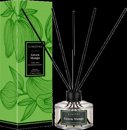 Limoni Парфюмерная вода в наборе с палочками Зеленый манго Green Mango 100 млLimoni<br>Нежный, утонченный, теплый и загадочный аромат уносящий к берегам Индийского океана, где нет суеты и тревоги.<br><br>Вес г: 130<br>Бренд : Limoni<br>Объем мл: 100<br>Страна производитель : Италия