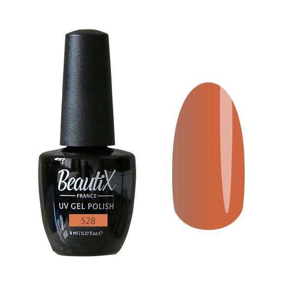 Beautix Гель-лак для ногтей 8 мл (№528)Beautix<br>Beautix – французские гель-лаки премиального качества. Материал отличается простотой в нанесении, плотностью цветов и стойкостью покрытия более 2-х недель без сколов и трещин. Роскошная палитра цветов и регулярно обновляющиеся коллекции будут по вкусу даже самым притязательным мастерам. При этом гель-лаки абсолютно безопасны, не содержат вредных веществ и практически не имеют запаха.<br>Способ применения:Делаем маникюр любым удобным вам способом. Придаем форму, бафим.Обезжириваем ногти жидкостью для устранения лишней влаги и лучшей сцепки поверхности ногтя с материалом.Наносим базовое покрытие Beautix тонким слоем длинными плавными движениями сверху вниз, отступая от кутикулы на 1-2 мм и не касаясь боковых валиков. Запечатываем торец. Просушиваем в LED-лампе 30 секунд, в UV-лампе - 2 минуты.Наносим цвет. Первый слой очень тонко, так же длинными плавными движениями максимально близко к кутикуле и боковым валикам, но, не касаясь и не затрагивая их. Запечатываем торец. Полимеризуем в LED-лампе 30 секунд, в UV-лампе - 2 минуты. Покрытие Beautix достаточно плотное, яркое и даже первый слой ложится без проплешин и полос. Вторым более плотным слоем выравниваем цвет (если нужно), снова запечатываем ноготок и полимеризуем.Наносим верхнее покрытие Beautix (необходимо для защиты от царапин, сколов и выцветания), запечатываем торец, полимеризуем в LED-лампе 30 секунд, в UV-лампе - 2 минуты, достаем из лампы и даем ноготкам остыть 1 минутку. Снимаем липкий слой жидкостью для удаления дисперсии Beautix, после чего покрытие приобретает стойкий глянцевый блеск.Состав:Этоксилат (5) Пентаэритритолтетраакрилат, 2-гидроксипропилметакрилат, триметилолпропантриакрилат, 2-гидроксиэтилметакрилат, 1-гидроксициклогексилфенилкетон, Н-диметилакриламид, этилен дистеарамид.Продукция французской марки Beautix завоевала сердца тысяч российских мастеров, благодаря премиальному качеству, долговечности и безопасности гель-лаков и стильному дизайну. Вс