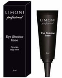 Limoni Основа под тени Eye Shadow BaseКосметика для лица<br>Основа под тени от Limoni наносится равномерным слоем на всю поверхность верхнего века. Сливается с тоном кожи, обеспечивает комфортное нанесение и мягкую растушевку теней.<br>Использование основы под тени позволяет добиться стойкого макияжа в течении всего дня, предотвращая скатывание и усиливает яркость оттенков теней.<br>* усиливает яркость<br>* придает стойкость<br>* облегчает растушевку<br>* предотвращает скатываение<br>Объем: 5мл.<br><br>Вес г: 30